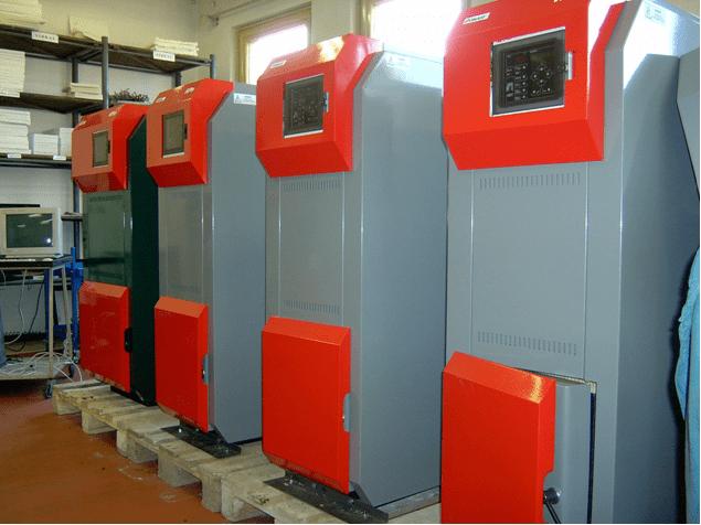 Instalación caldera biomasa_TECNOSOL