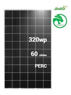 Placa Solar JINKO Cheetah 320Wp PERC (60células) - TECNOSOL