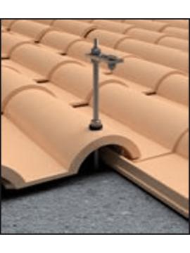 Soporte coplanar CUBIERTA TEJA para paneles solares - vertical -modelo 01v a la venta en TECNOSOL