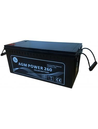 Bateria Monoblock AGM POWER 260- en tienda online TECNOSOL