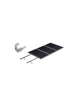 Soporte coplanar para placas solares sobre CUBIERTA TEJA con salvatejas - modelo 02v - a la venta en TECNOSOL Albacete