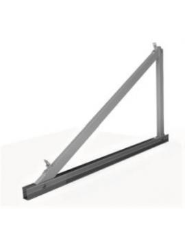 Soporte inclinado CUBIERTA CHAPA - vertical/2000x1000 - MODELO 11v- a la venta en TECNOSOL
