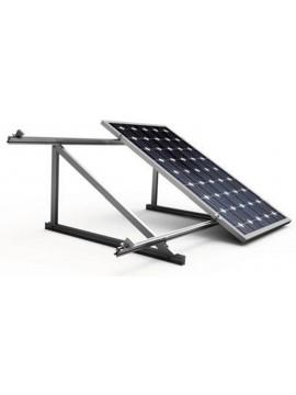 Soporte inclinado para placas solares sobre CUBIERTA CHAPA - vertical/2000x1000 - modelo 11v - a la venta en TECNOSOL