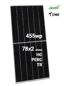 Placa Solar JINKO TIGER 455Wp- a la venta en tienda online TECNOSOL