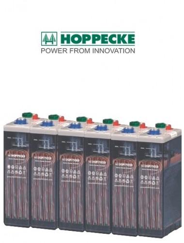 Baterias OPZS Hoppecke 6 VASOS