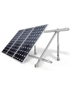 Soporte inclinado REGULABLE - cubierta plana o suelo - a la venta en tienda online tecnosol
