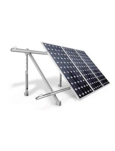 Soporte inclinado REGULABLE - cubierta plana o suelo - a la venta en tecnosolab.com