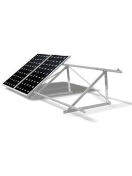 Soporte inclinado cerrado REGULABLE - cubierta metálica - para placas solares en vertical - a la venta en tecnosol