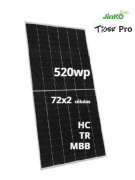 Placa Solar JINKO TIGER Pro 520Wp - a la venta en TECNOSOL