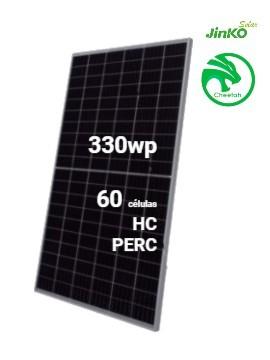 Placa Solar JINKO Cheetah 330Wp 60M monocristalina  - a la venta en tienda online TECNOSOL Albacete