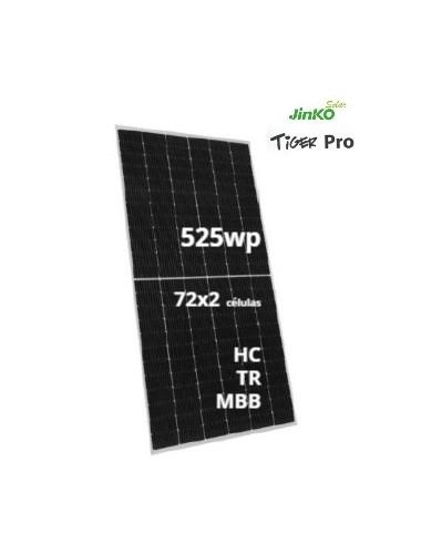 Placa Solar JINKO TIGER Pro 525Wp - a la venta en TECNOSOL