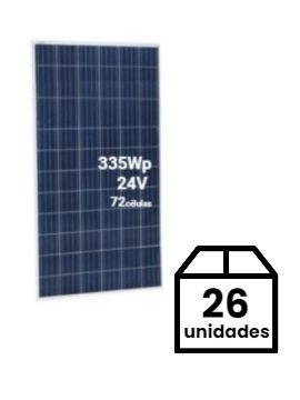 Pack de 26 Placas Solares JINKO 335Wp 24V (72 células) - A LA VENTA EN Tecnosol ALBACETE