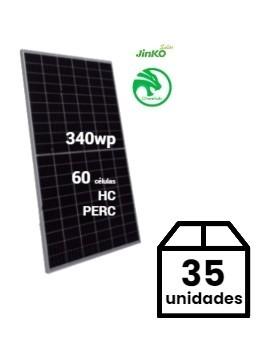 Pack 35 Placas Solares JINKO Cheetah 340Wp (60células) - a la venta en tienda online TECNOSOL