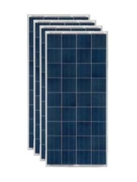 Pack 4 Placas Solares SCL 150Wp 12V (36 células) - tecnosolab.com