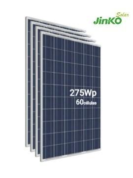 Pack 4 Placas Solares JINKO 275Wp (60 células) - a la venta en tienda online TECNOSOL albacete