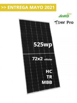 Placa Solar JINKO TIGER Pro 525Wp - a la venta en TECNOSOL Albacete