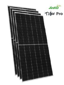 Pack 4 Placas Solares JINKO TIGER Pro 525Wp