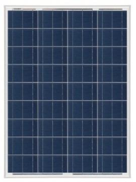 Placa Solar 85Wp 12V MODELO SCL -85P | Paneles solares TECNOSOL