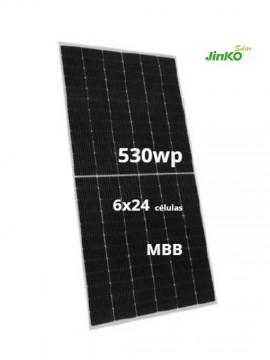 Placa Solar JINKO 530Wp a la venta en TECNOSOL aLBACETE