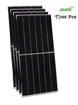PACK 4 Placas Solares 530w JINKO TIGER Pro