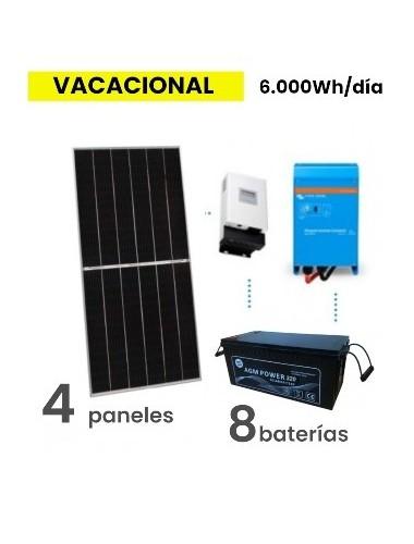 KIT SOLAR PREMIUM 6000Wh/día AGM - tienda online TECNOSOL Albacete