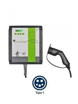 Cargador para coches eléctricos - de pared - Wallbox POLICHARGER PRO-T1 - A la venta en TECNOSOL Albacete