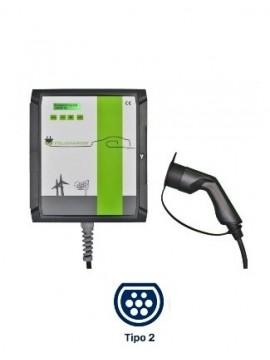 Cargador para coches eléctricos Wallbox POLICHARGER PRO-T2 - a la venta en TECNOSOL ALBACETE