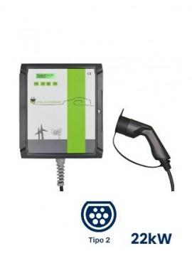 Cargador Wallbox POLICHARGER PRO-T23F - venta en tienda online TECNOSOL