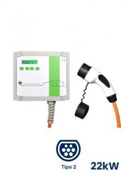 Cargador para coches eléctricos e híbridos Wallbox POLICHARGER IN-T23F - a la venta en TECNOSOL ALBACETE