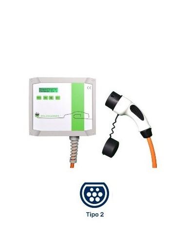 Cargador para coches eléctricos e híbridos Wallbox POLICHARGER IN-T2 a la venta en TECNOSOL ALBACETE