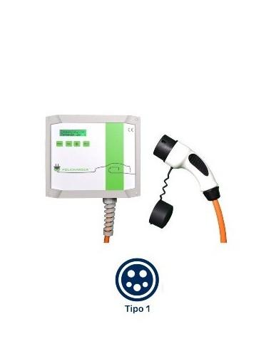 Cargador para coches eléctricos e híbridos Wallbox POLICHARGER IN-T1 - a la venta en TECNOSOL ALBACETE