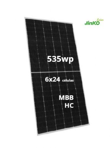- Placa Solar JINKO TIGER Pro 535Wp - A LA VENTA EN tecnosol albacete tienda online de material para energía solar