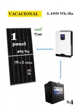 KIT SOLAR 1100Wh/día DC Power- en tienda online TECNOSOL Albacete