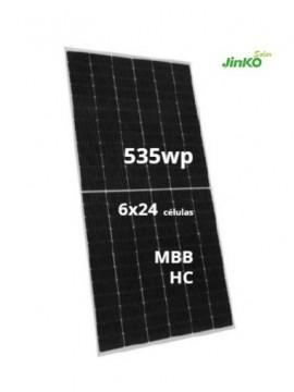 Placa Solar JINKO 535 Wp A LA VENTA EN tecnosol albacete tienda online de material para energía solar