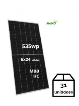 PACK de 31 Placas Solares JINKO 535Wp/ venta TECNOSOL