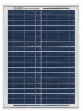 Placa Solar 20Wp 12V MODELO SCL -20P | Paneles Solares Tecnosol