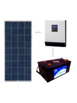 Kit Solar basico 1 monobloc - en tienda online TECNOSOL