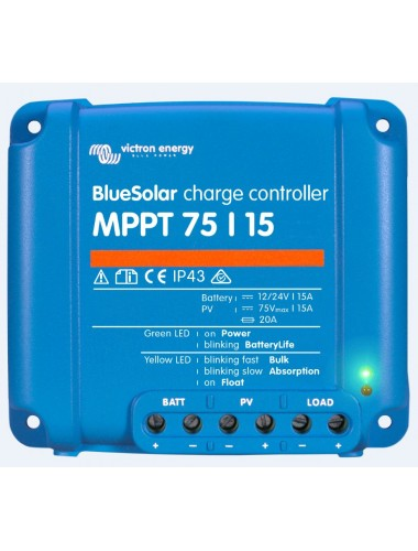 Regulador MPPT Victron BlueSolar 75/15 - tienda onlineTECNOSOL