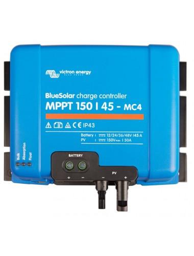 Regulador MPPT Victron BlueSolar 150/45 MC4- tienda TECNOSOL