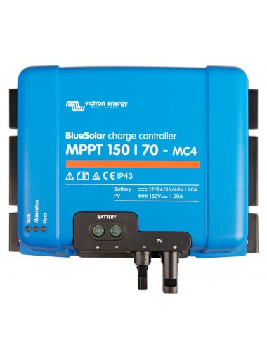 Regulador MPPT Victron BlueSolar 150/70 MC4 -tienda TECNOSOL
