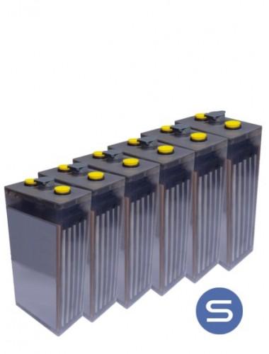 Bateria POPzS 6 vasos con logo SCL