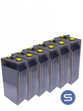 Bateria estacionaria translucida 8 POPzS 1000 1450Ah- TECNOSOL