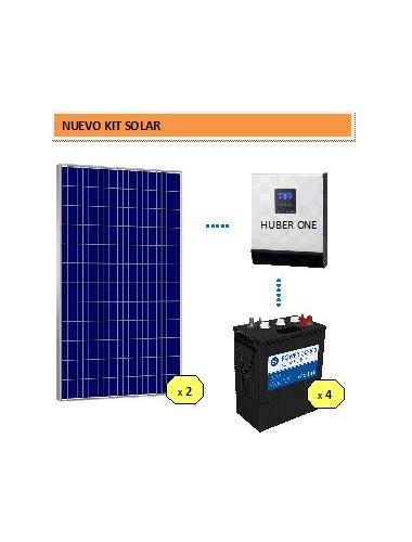 Kit Solar basico 2000 DC POWER - venta en tienda online Tecnosol