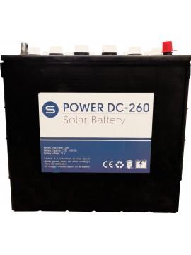 Batería ciclo profundo Power DC-260- tienda online TECNOSOL