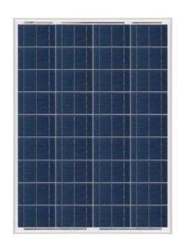 Placa Solar 85Wp 12V MODELO SCL -85P | Tienda online TECNOSOL