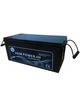 Batería AGM power 320Ah_TECNOSOL
