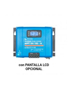 Regulador VICTRON SMARTSOLAR 150-100 MPPT con pantalla LCD opcional_TECNOSOL