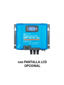 Regulador VICTRON SMART SOLAR 150-85 MC4 pantalla LCD opcional_TECNOSOL