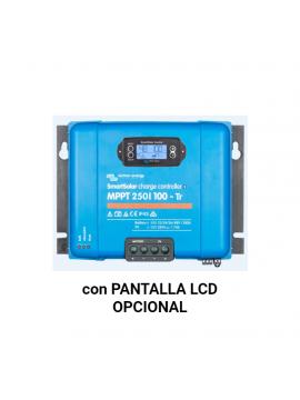 Regulador VICTRON SMART SOLAR 250-100 tr con pantalla LCD Opcional_TECNOSOL