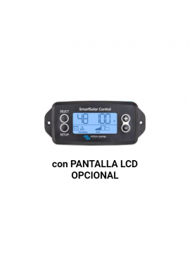 Pantalla LCD opcional para Regulador VICTRON SMART SOLAr_TECNOSOL